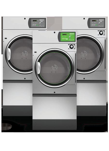 Huebsch On-Premises Stack Tumble Dryer Spec Sheets 45lb