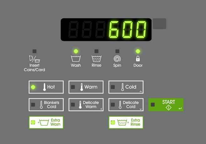 Dallas laundry equipment laundromat credit card readers