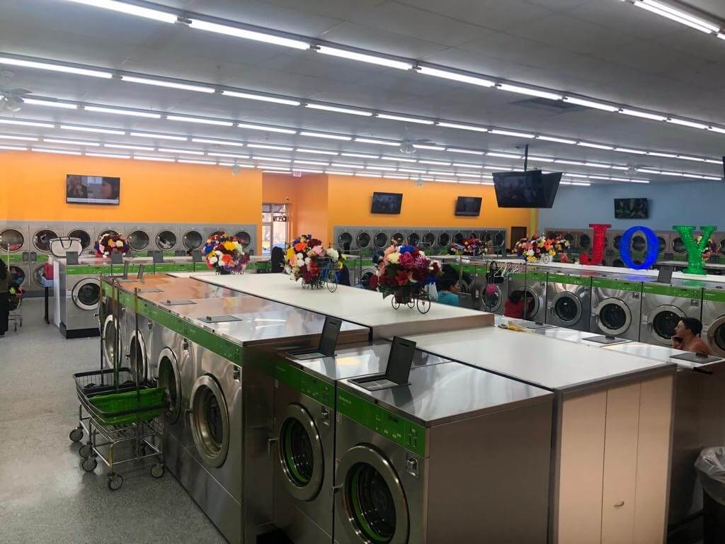 atlas laundry helps build laundromat