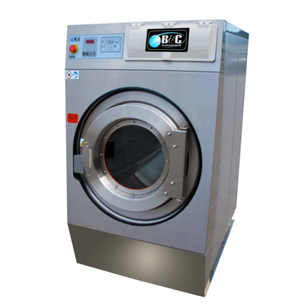 b&c technologies he series washer on premise laundry equipment