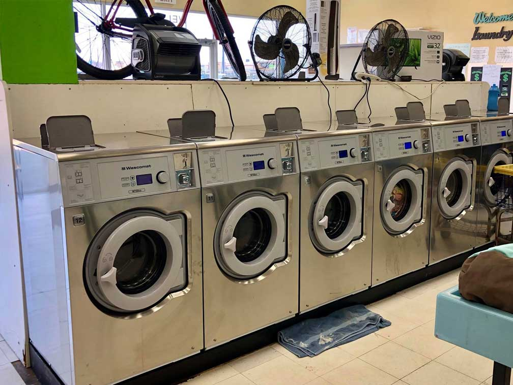 Athletic Facility laundry equipment