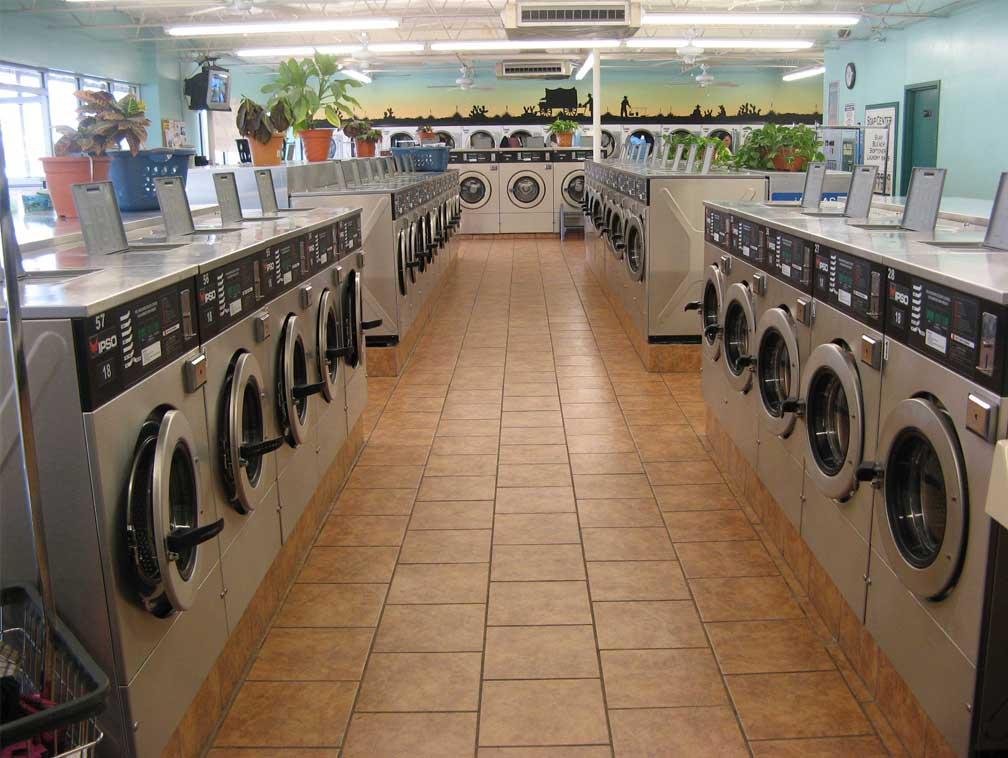 Restaurant laundry machines