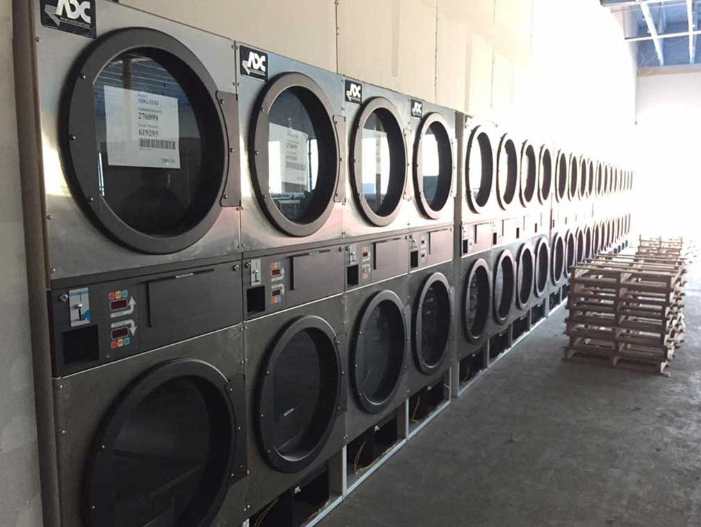 dallas laundry equipment laundromat credit card readers