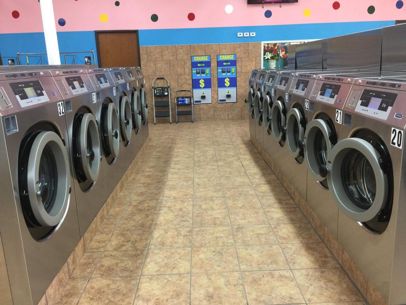 start my own laundromat